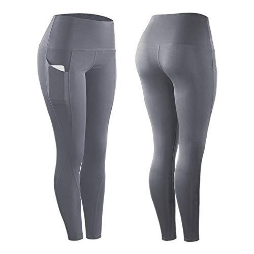 Leggings da Donna Comodi e Traspiranti per Yoga Pantaloni Sportivi