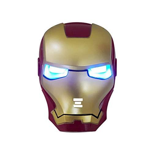 MODELSS Avengers Iron Man Amerikanischer Kapitän Raytheon Spider-Man Glühender Maskenheld Cosplay Geburtstagsgeschenk Party - Spider Mann Professionelle Kostüm