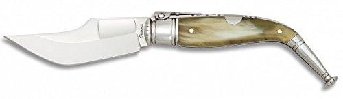Martinez Albainox spanisches Navaja Taschenmesser JEREZANA Nº1 9cm Horn Geschenk-Box