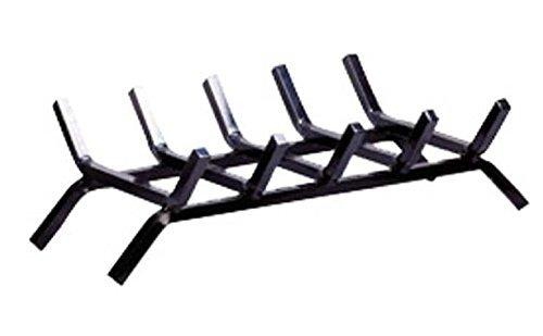Aubry Gaspard AG1130 - Parrilla para chimenea hierro forjado, 50 x 30 x 14 cm