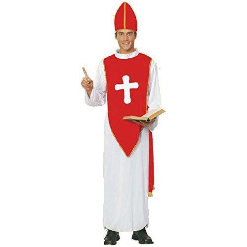 ße 50-54 Kirche Pater Pfarrer Mönch Bischofskostüm (Papst Hut Kostümen)