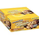 PURE PROTEIN PURE PROT BAR,PNUT BUTTER, 50 GRM CASE_6 by Pure Protein