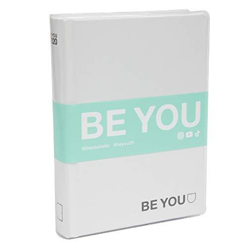 Giochi Preziosi Be You Orginal Diario Agenda, Formato Standard, Collezione 2019/20, Bianco