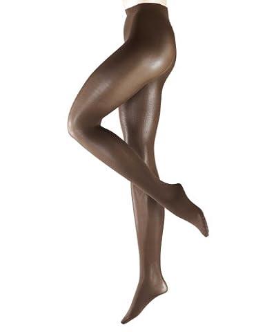 FALKE - Collants Femme 40466 Pure Shine 40, Couleur chair - Hautfarben (brenda 5179), FR : 2 (Taille fabricant : 42/44)