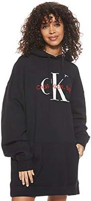 Calvin Klein Jeans Women's Washed Monogram Oversized Hd Heavyweight K