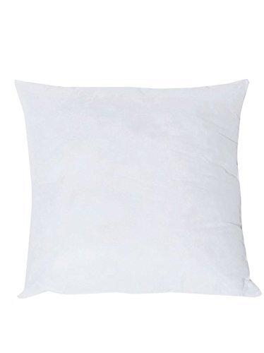 Pack x2 Relleno de fibra para cojínes, 45x45cm, 40x60cm, 50x50cm. color blanco (45x45cm)