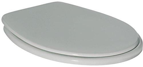 Preisvergleich Produktbild Ideal Standard Klosettsitz CONTOUR 21 K 7121 mit Deckel, Scharnier aus Edelstahl, weiss, K712101