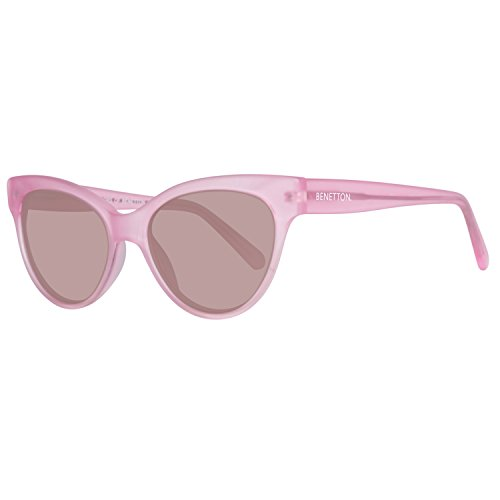 United Colors of Benetton Unisex-Erwachsene BE998S02 Sonnenbrille, Pink, 53