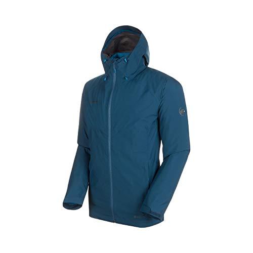 Mammut Herren 3in1 Convey Hooded Hardshell-Jacke mit Kapuze, Wing Teal-Sapphire, M