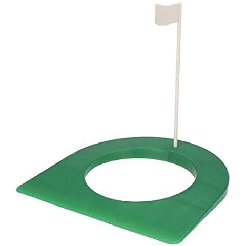 LEORX Pratica di Golf indoor mettendo il foro della tazza 4 14 di pollice con la bandierina