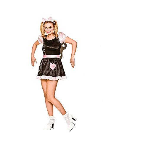 Up Doll Wind Erwachsene Für Kostüm - Wind Up Doll - Adult Costume M (UK:14-16)