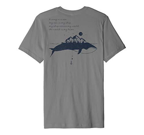 Backprint Wal Vanlife Camper Outdoor Shirt
