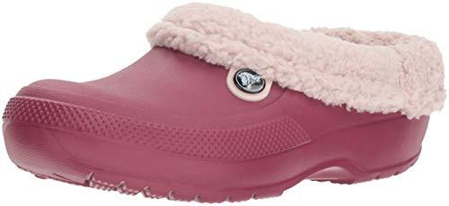 Crocs Classic Blitzen III Clog U, Zuecos Unisex Adulto, Rojo (Pomegranate/Petal Pink 6c7), 36/37 EU