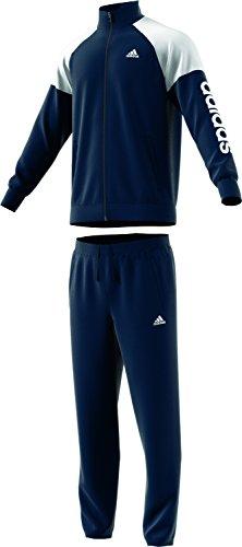 ADIDAS PERFORMANCE HERREN Trainingsanzug MTS PES MARKER grau blau