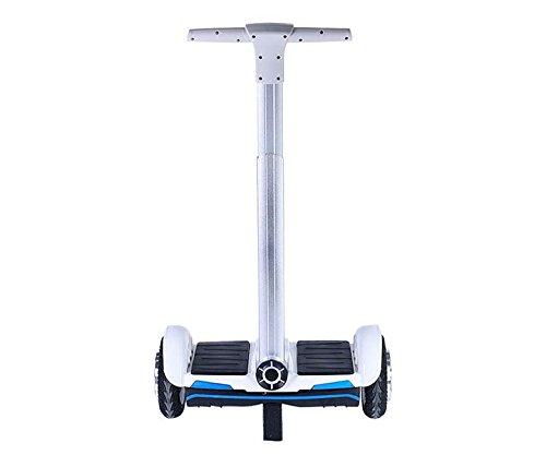 Monopatín Scooter Eléctrico (2 Ruedas, 10Km/h, 100Kg de carga) - Blanco