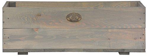 Esschert Design Pflanzkasten, 63 x 21 x 21 cm, aus Holz, Holzkasten, Pflanzbox, Holzbox, Blumenkasten
