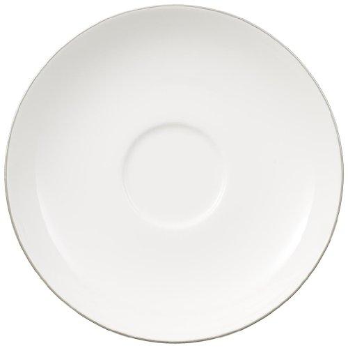 Villeroy Boch-Anmut Platinum-&N-Soucoupe Tasse à thé - 15 cm