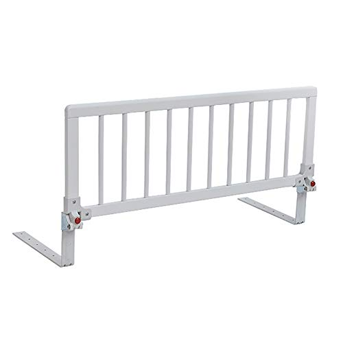 Holzschutzschienenschutz für Betten und Etagenbetten, Universal Cabrio Kinderbett, Weiß (Color : 5-10cm Thickness mat, Size : 88cm) - Matratze Nachricht