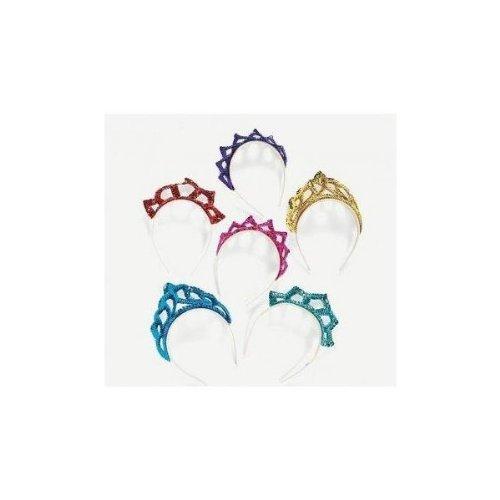 Fun Express Sequin Princess Tiara Headbands