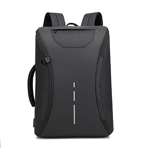 KHDJH Rucksack Stil Schultern Paket Mann Business Freizeit Paket USB Funktion Guard Diebstahl Rucksack Q schwarz -