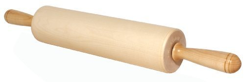 J.K. Adams Patisserie Maple Wood Rolling Pin, 12-inches by 2-3/4-inches by JK Adams Jk Adams Rolling Pin