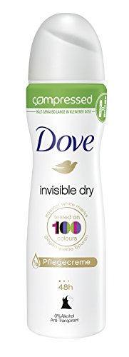 Dove Deospray Invisible Dry Anti-Transpirant Compressed, 6er Pack (6 x 75 ml)