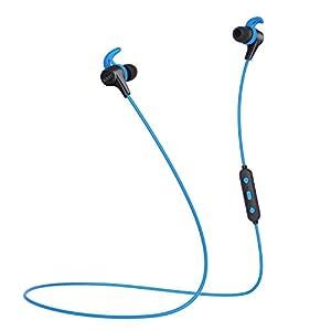AUKEY Bluetooth Ausinės in Ear V4.1 mit AptX, 3 EQ Klangmodi, CVC 6.0 Dual-Mic und 8 Stunden Spielzeit, magnetisch Sport Ausinės für iPhone, Apple Watch, Android, Echo Dot und Weitere Geräte