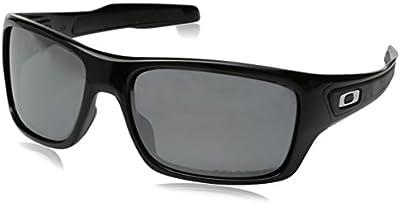 Oakley OO9263 08 Turbine Gafas de sol,  Rectangulares,  Polarizadas,  65,  Negro