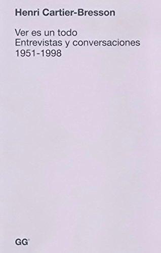 Son escasas las reflexiones escritas que Henri Cartier-Bresson legó sobre su propia práctica fotográfica y seguramente fue en las entrevistas que concedió a lo largo de su carrera donde el artista francés se mostró más generoso en palabras y manifest...