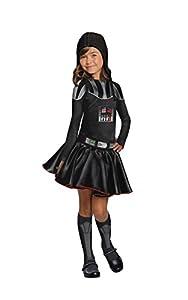 Rubies - Disfraz oficial de Disney Star Wars Darth Vader para niños, talla mediana de 5 a 7 años