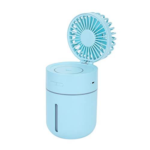 Fannty Humidificador Coche Difusor 400 ml USB Fan