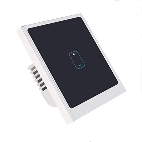 REFURBISHHOUSE Interruttore Wi-Fi Per Controllo App Eu Standard Interruttore Light 1 Gang 1 Way Wall Press Smart Switch Tramite Android/Ios Control Spina Ue
