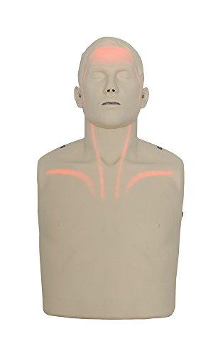 Brayden Manikin LED Blutfluss HLW Reanimationspuppe CPR Wiederbelebungspuppe Set -