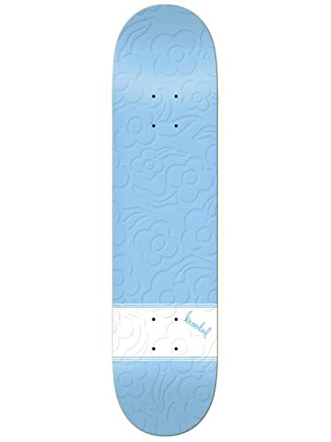 Krooked Skateboards-Deck Gonz Three Strypes Emb - 8.06 Inch None (One Size, Blau)
