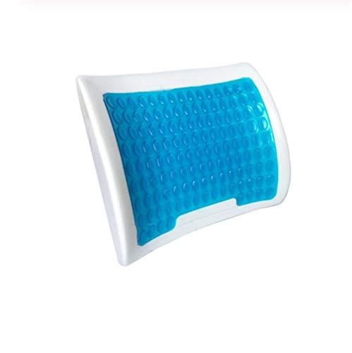 Silikon Gel Memory Foam Cool Stuhl Kissen Konkave Taille Wirbelsäule Unterstützung Sitzpolster Sommer Stuhl Langsam Rebound Sattel Mat -