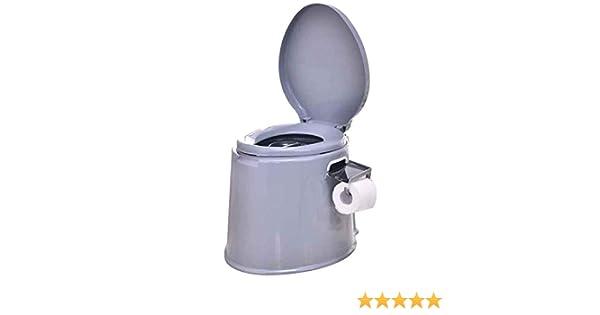 Mobile Toilet- Non-slip Folding Commode Toilet Seat Toilette Camping Outdoor Toilet- For Camping Hiking White supertop Portable Travel Toilet
