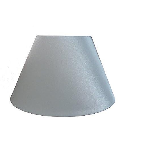 Empire lamp shade amazon 10 empire shiny satin pendant ceiling table lamp shade white aloadofball Choice Image