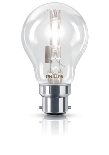 Philips 2 Ampoules EcoHalogène Standard Culot B22 105 Watts consommés Equivalence incandescence : 140W