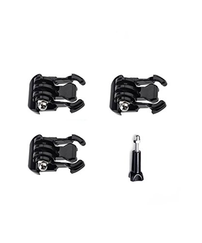 deyard-a010-3pcs-quick-release-buckle-1pc-long-thumbscrew-for-gopro-hero-2-3-3-4-5