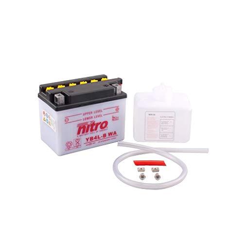 Batterie 12V 4AH YB4L-B Blei-Säure HC Nitro 50411 LX 50 C381-2 Takt 06-13 - Lx Batterie