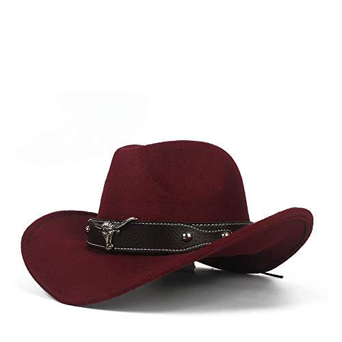 Xiaojuan-Hats, Wollfilz Western Cowboy Casual Hut Mode Dame -