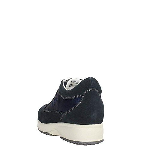 Lumberjack SW01305-005 Sneakers Damen Spaltleder Navy Blau