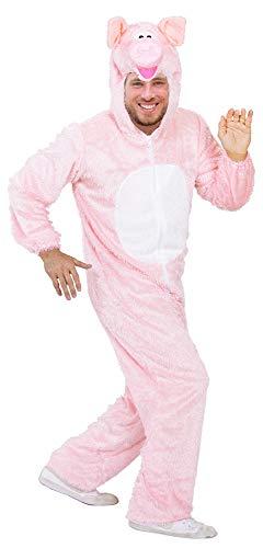 Schwein Tierkostüm für Erwachsene - Gr. ()