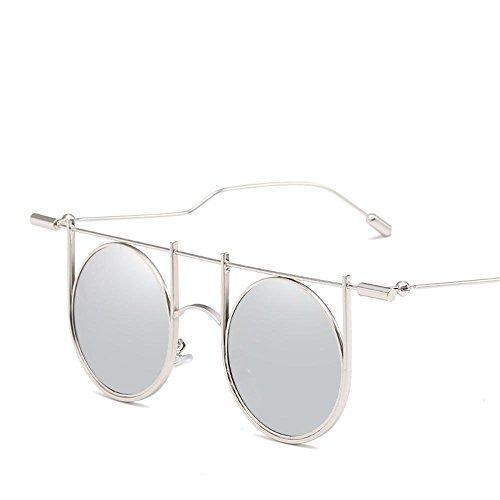 Axiba il versione cool personalità di stile di occhiali da sole tendenza a piedi show stile europeo e americano nuovi occhiali da sole r etro regali creativi