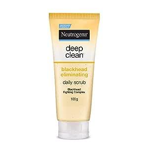 Neutrogena Deep Clean Scrub Blackhead Eliminating Daily Scrub For Face, 100g