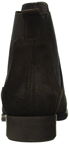 Pieces Psizi Suede Boot Mocca, Bottes Chelsea Femme Marron (Mocca)