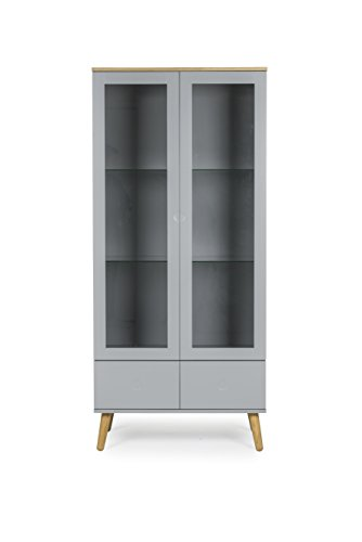 Tenzo-1670-612-Dot-Designer-Vitrine-Holz-grau-eiche-43-x-79-x-1785-cm