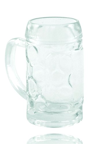 Mini Masskrug - ohne Dekoration (Schnapsglas Mini Bierkrug)