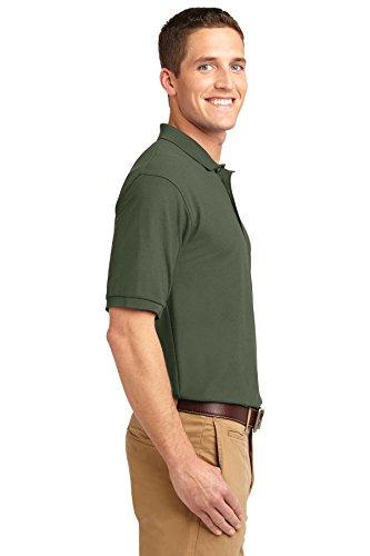 NEW Port Behörde Silk-Touch Sport T-Shirt Harvest Gold, M Grün - Clover Green