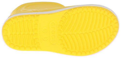 Crocs Bump It Boot, Bottes Mixte Enfant Jaune (Yellow/Oyster)